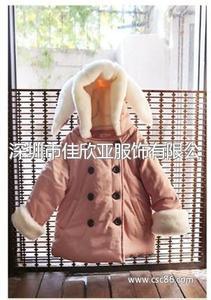 T005 女童外套棉衣加厚