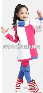 T006   2013新款女童卫衣套装