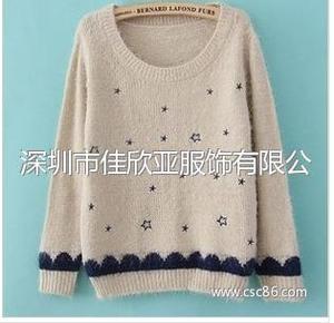 日系甜美小清新毛衣毛韩版宽松打底套头衫