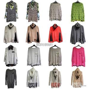 外贸品牌杂款库存尾货女装长袖T恤毛衣 韩版女式长袖打底衫