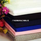 特价供应服装用布 运动夏装T恤针织面料 针织汗布 人棉拉架