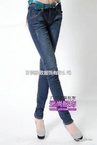 拿货价最便宜的服装批发厂家湖南娄底低价格高品质的牛仔裤批发