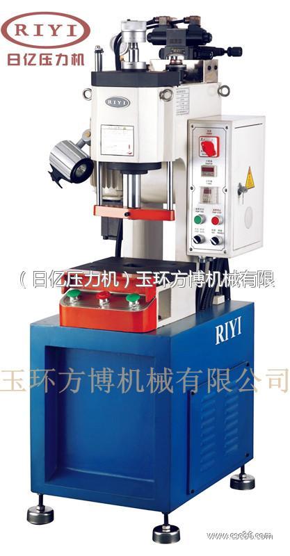 1t小型液压机 1t台式单柱液压机图片