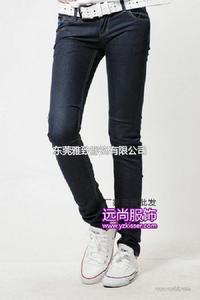 人们都在找最有保障的服装批发厂家湘西自产自销的便宜牛仔裤批发
