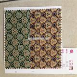 显气质印花布 全棉花布 优质服装布