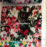 多彩印花布 优质精品服装布