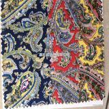 民族风情花布 全棉活性印花布 服装布 饰品布