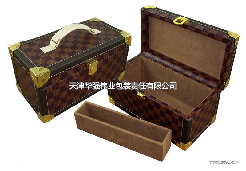 天津包装盒生产厂家供应各式皮质礼品包装盒小图一图片