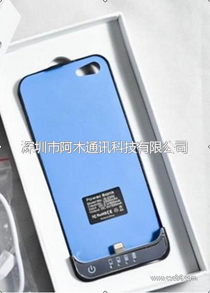 型号:RC-I5P I5背夹电池+无线接收器(QI标准)大图一