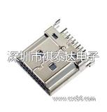 厂家直销HDMI 19P 公 插板 HDMI连接器