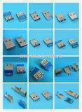连接器 USB3.0连接器 USB AF 焊线式