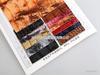 厂价直销S-0851印刷石头纹PU人造革/合成革小图二