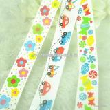厂家专业生产,可爱卡通丝带 优质礼品包装丝带 印花丝带