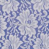 牡丹花图 蕾丝布料 提花网眼布 针织面料 服装面料 2118