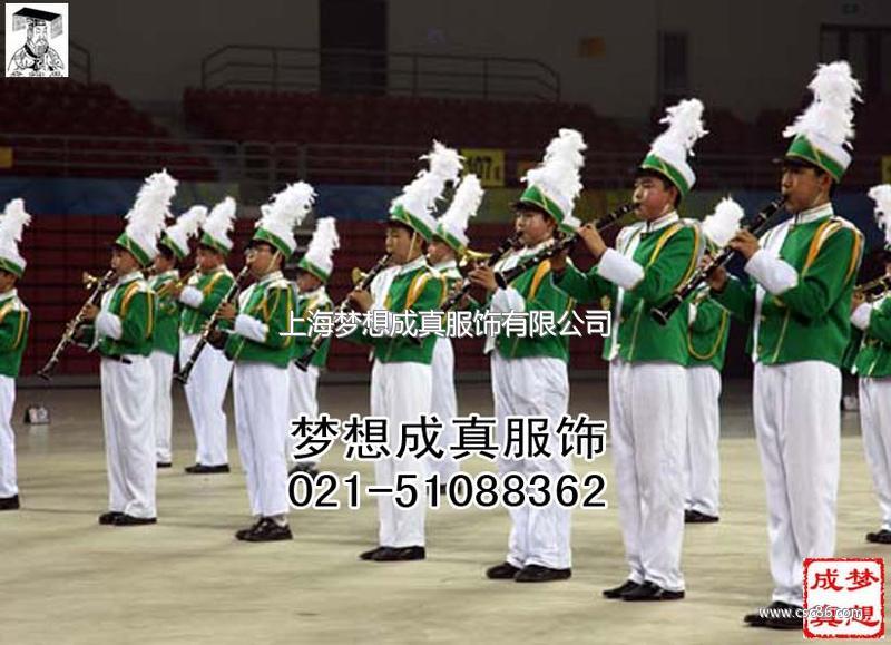 铜管乐队服装定做 男女铜管乐队服装定做