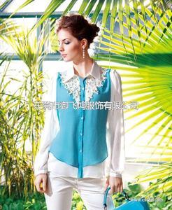 尤加迪曼2014春装新款雪纺衫