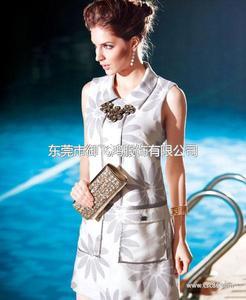 尤加迪曼2014春装新款无袖连衣裙