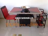 火锅餐桌 电磁炉火锅餐桌 火锅桌椅价格