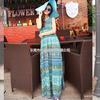 2014热卖夏季 原创女装设计波西米亚长裙新款连衣裙A362小图二