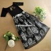 2014韩版欧根纱连衣裙 夏季女装新款两件套短袖裙子B353小图四