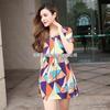 爆款专柜直销 2014原创欧美风修身  品牌连衣裙A397小图三