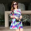 爆款专柜直销 2014原创欧美风修身  品牌连衣裙A397小图二
