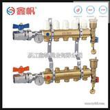 锻造一体地暖分水器 配件 球阀分水器 分水器集水器