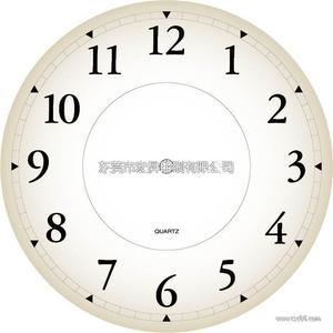 可爱时钟手工图片