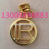 供应3号尼龙品牌拉链片,挂电珍珠金色