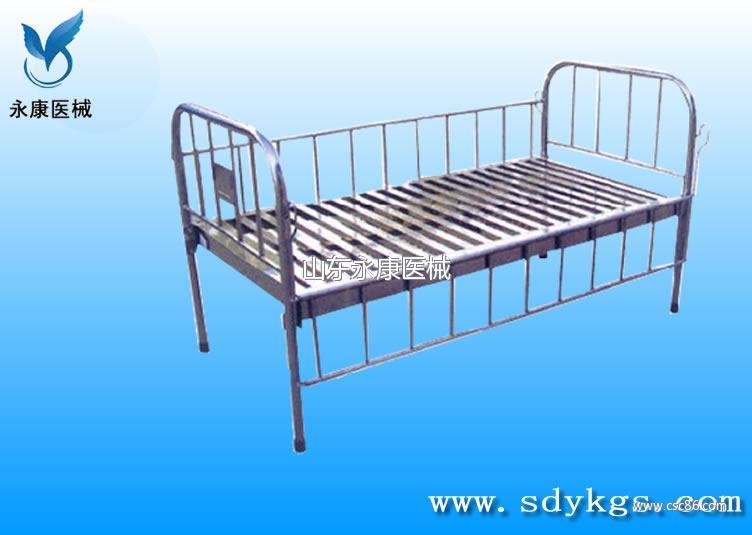 全不锈钢儿童平板床图片