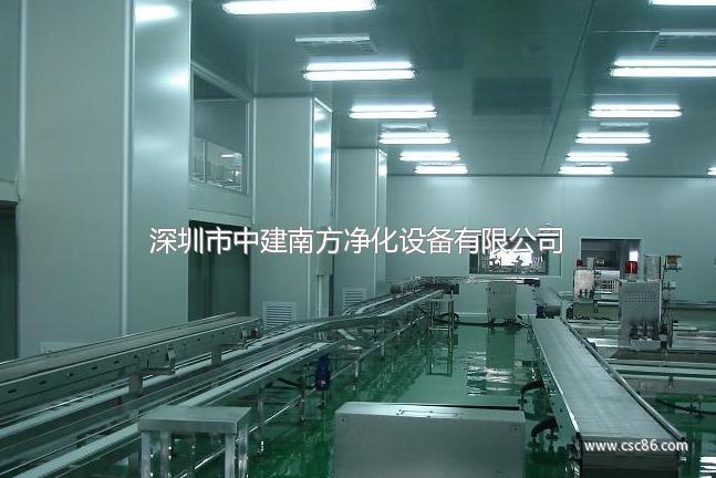 LED封装无尘车间工程设计规划