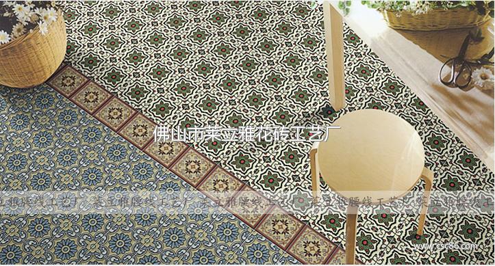 陶瓷小花砖100 欧式地砖