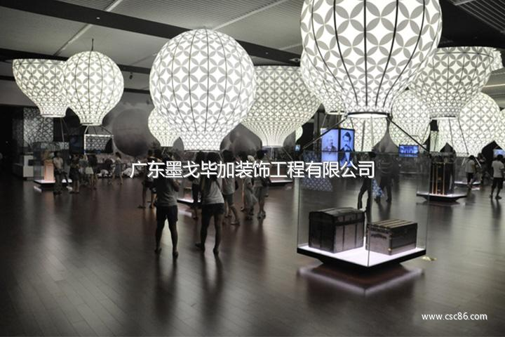 光环境设计,博物馆的陈列展示