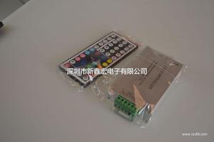 144W12V44键铝壳LED灯条模组七彩控制器