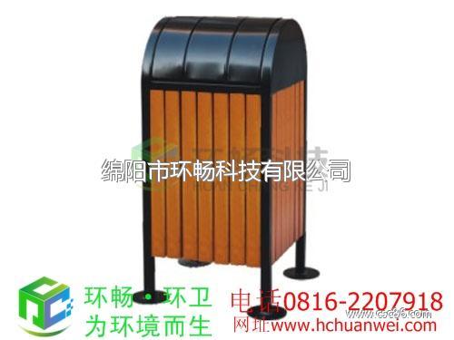 镀锌脚踏式钢木垃圾桶上投口钢木垃圾桶拱桥分类钢木