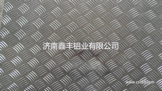 小五条筋花纹铝板