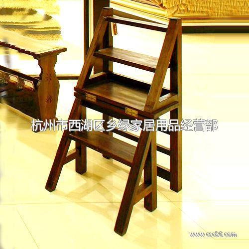 供应雪莱实木折叠椅 登高椅
