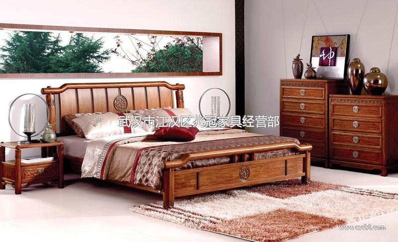供应中式家具,中式实木卧室成套家具