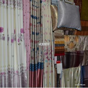厂家直销 窗帘布艺批发 遮光布长款