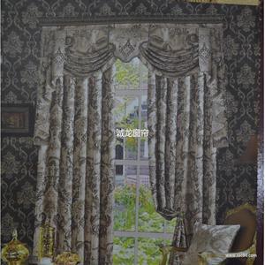 批量供应别墅窗帘 奢华加厚欧式古典窗帘