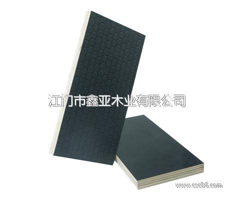 防滑胶合板按木清水模板【黑色】