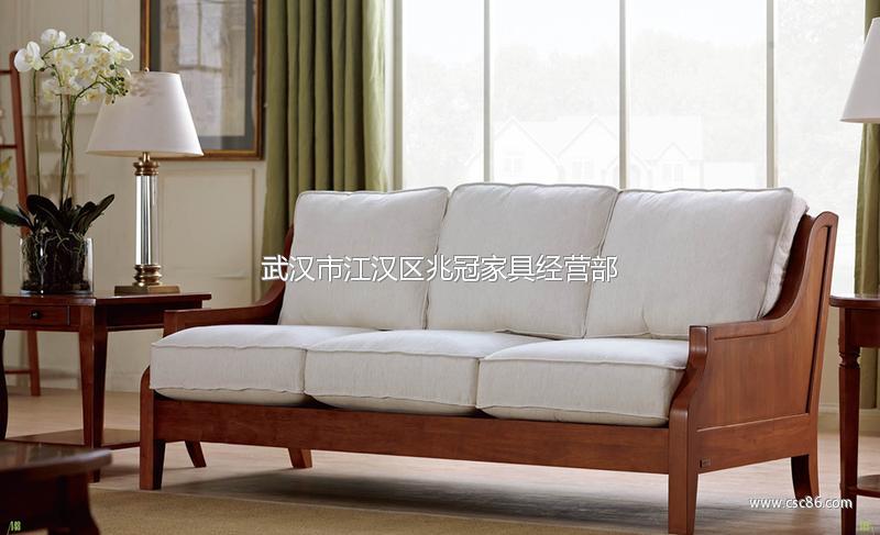 供应美式家具 美式实木沙发