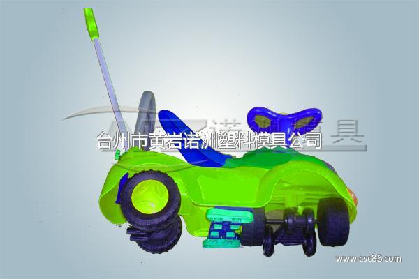 儿童电动童车模具生产图片