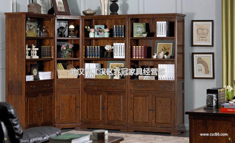 高档美式家具品牌 美式书柜
