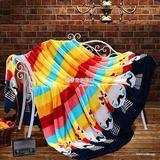 加厚法兰绒毯 保暖拉舍尔毛毯 珊瑚绒毯