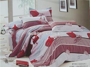 富贵绒磨毛四件套 床上用品