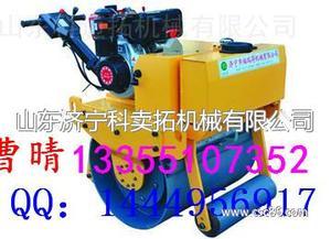 提供了轮子的压实能力 单轮柴油压路机