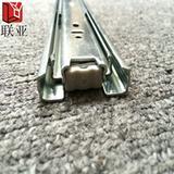 重庆内蒙古维吾尔联亚滑轨导轨五金家具配件三节钢珠滑轨
