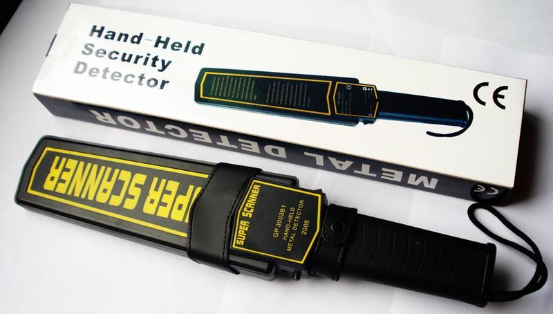 手持便捷式金属探测器GP3003B1 安检仪器