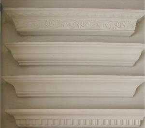 石膏线条 石膏线 欧式石膏线条 石膏线条角线 吊顶平线 定做图片